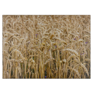 Field Of Wheat, Golden Grains Cutting Board