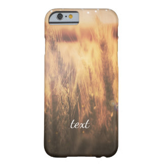 Field of Wheat Rustic Country Simple Glam Barely There iPhone 6 Case