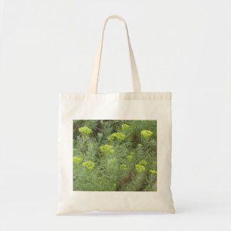 Field of Yellow flowers Canvas Bags