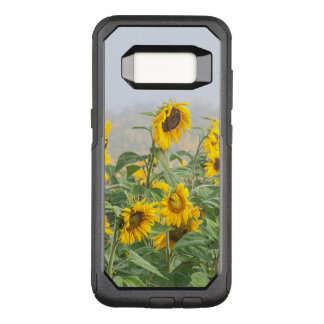 Field Of Yellow Giant Weeping Sunflowers OtterBox Commuter Samsung Galaxy S8 Case