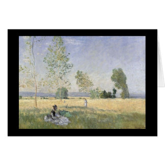 Field Picnic - Monet Card