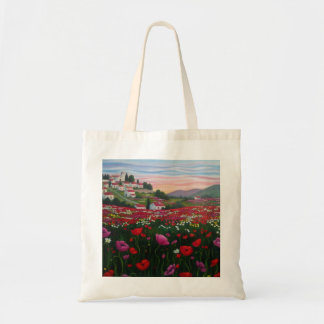 Field poppies 2. Stock market Tote Bag
