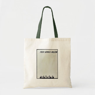 Field Services Bulletin Tote Bags