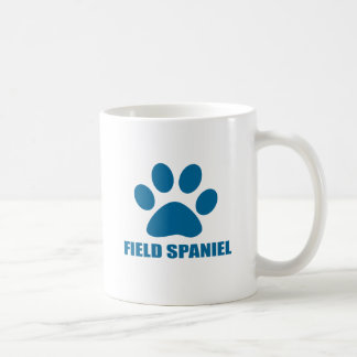 FIELD SPANIEL DOG DESIGNS COFFEE MUG