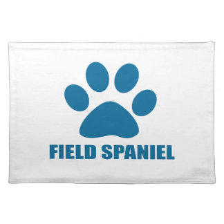 FIELD SPANIEL DOG DESIGNS PLACEMAT