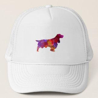 Field Spaniel in watercolor Trucker Hat