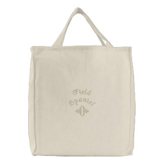 Field Spaniel Mom Gifts Embroidered Bag