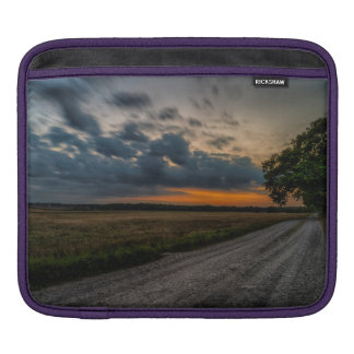 Field storm iPad sleeve