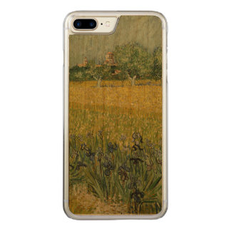 Field with flowers near Arles by Vincent Van Gogh Carved iPhone 8 Plus/7 Plus Case