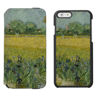 Field with Flowers Near Arles by Vincent Van Gogh Incipio Watson™ iPhone 6 Wallet Case
