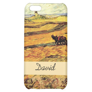 Field with Ploughman and Mill Vincent van Gogh. iPhone 5C Cover