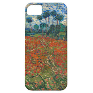 Field with Poppies iPhone 5 Cases