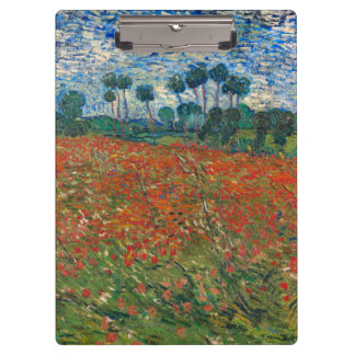 Field with Poppies Clipboards