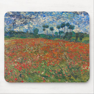 Field with Poppies Mouse Pad