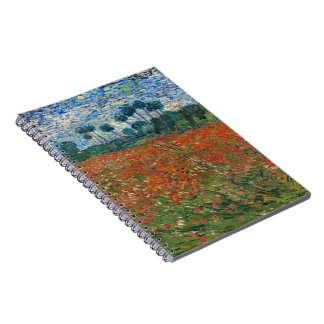 Field with Poppies Note Book