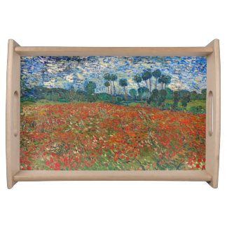 Field with Poppies Serving Trays