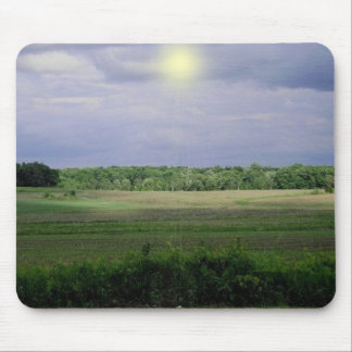 Field with SunBurst Mouse Pad