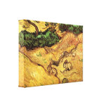 Field with Two Rabbits by Vincent van Gogh Stretched Canvas Print