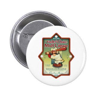 Fielder s Choice Malt Liquor Pinback Button