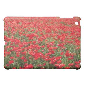 Fields of poppies near Carpentras flowers iPad Mini Cover