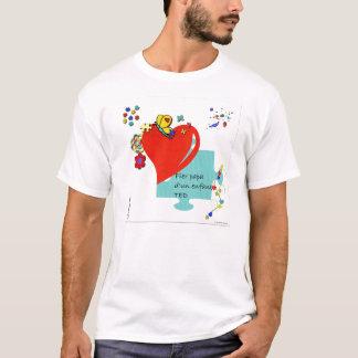 Fier papa d'un enfant TED T-Shirt