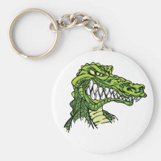 Fierce Gator Keychain