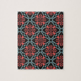 Fierce Heart Tribal Jigsaw Puzzle