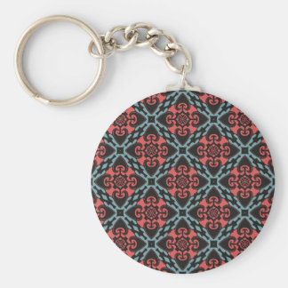Fierce Heart Tribal Key Ring
