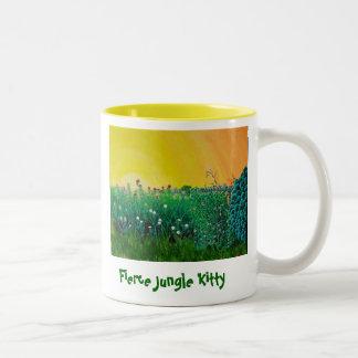 Fierce Jungle Kitty Mug