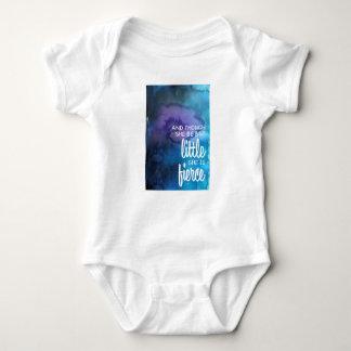 Fierce Little Girl Baby Bodysuit