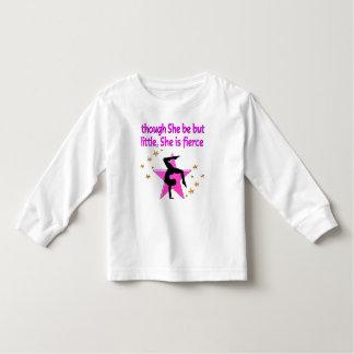 FIERCE LITTLE GYMNAST GIRL TODDLER T-Shirt