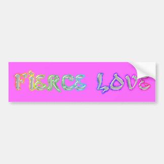 Fierce Love Cards Car Bumper Sticker
