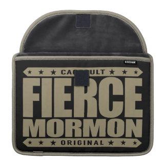 FIERCE MORMON - Fearless Latter-day Saint Member Sleeves For MacBooks
