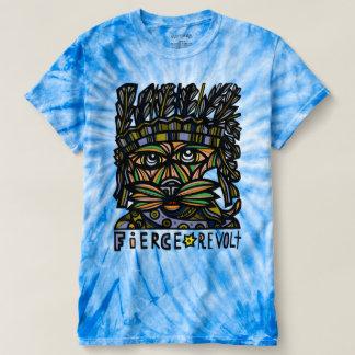 """Fierce Revolt"" Men's Cyclone Tie-Dye T-Shirt"