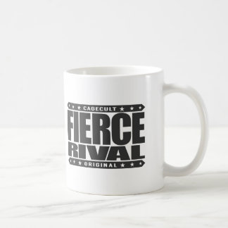FIERCE RIVAL - Heart of Fearless Primate Warrior Basic White Mug