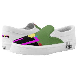 Fierce Smirk Low Tops Printed Shoes