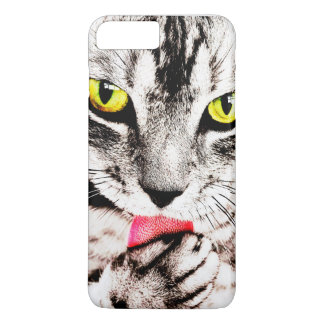 Fierce Tabby Cat iPhone 7 Plus Case
