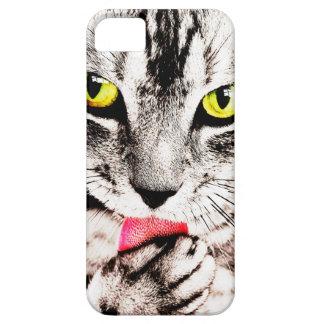 Fierce Tabby Cat Iphone Case