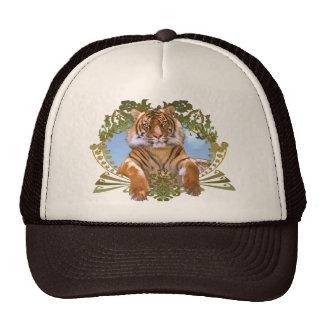 Fierce Tiger Crest Endangered Hats