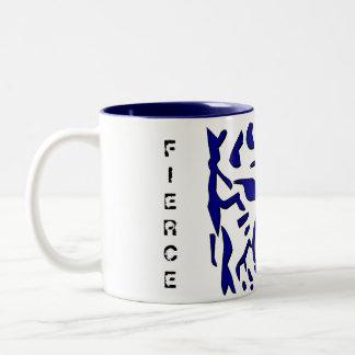 Fierce Tiger Mug in Navy