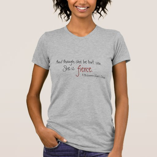 fierce t shirts