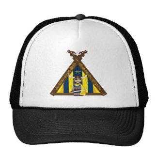 Fierce Viking and Tent Baseball Cap
