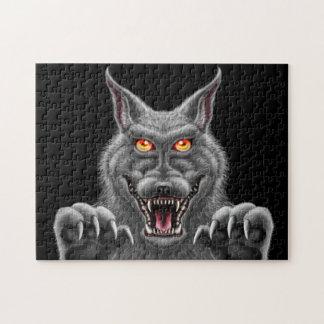 Fierce Werewolf 11x14 puzzle