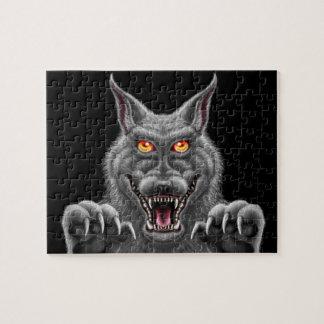 Fierce Werewolf 8x10 puzzle