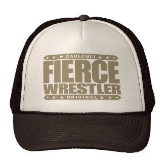 FIERCE WRESTLER - Fearless, Wild Primate Grappler Cap