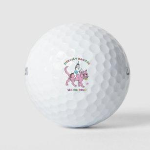 8b38a95d417 Fiercely Magical Water Polo (Female) Unicorn Ridin Golf Balls