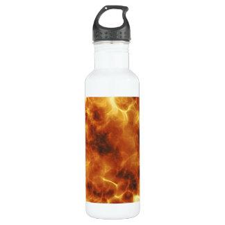 Fiery burning inferno explosion 710 ml water bottle