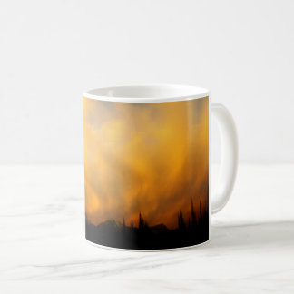 Fiery clouds - Clouds on Fire Coffee Mug