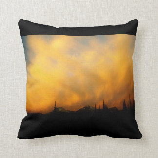 Fiery clouds - Clouds on Fire Cushion