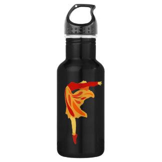 Fiery Dancer 32 oz. 532 Ml Water Bottle